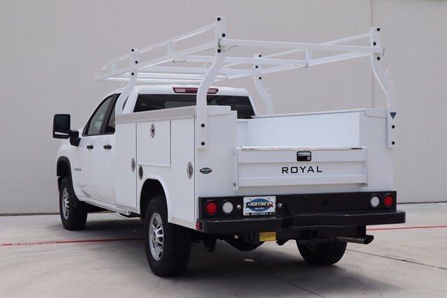 2021 Chevrolet Silverado 2500 Double Cab 4x4, Royal Truck Body Service Body #21CF1008 - photo 6