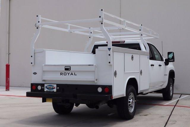 2021 Chevrolet Silverado 2500 Double Cab 4x4, Royal Truck Body Service Body #21CF1008 - photo 2