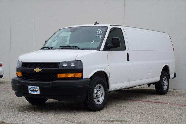 2020 Chevrolet Express 3500 RWD, Adrian Steel General Service Upfitted Cargo Van #FL1168637 - photo 3