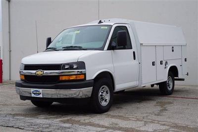 2020 Chevrolet Express 3500 RWD, Knapheide KUV Service Utility Van #FL1200234 - photo 3