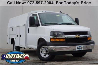 2020 Chevrolet Express 3500 RWD, Knapheide KUV Service Utility Van #FL1200309 - photo 1