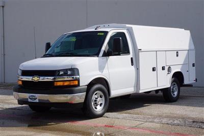 2020 Chevrolet Express 3500 RWD, Knapheide KUV Service Utility Van #FL1200399 - photo 3