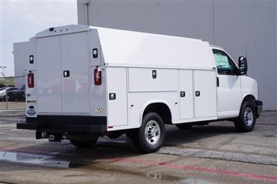 2020 Chevrolet Express 3500 RWD, Knapheide KUV Service Utility Van #FL1200399 - photo 2