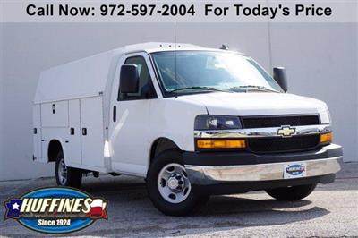 2020 Chevrolet Express 3500 RWD, Knapheide KUV Service Utility Van #FL1200414 - photo 1