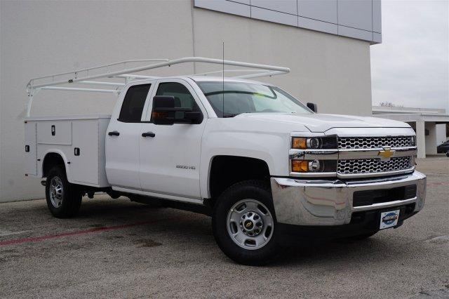 2019 Chevrolet Silverado 2500 Double Cab RWD, CM Truck Beds Service Body #TK1227391 - photo 3