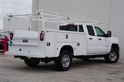 2019 Chevrolet Silverado 2500 Double Cab RWD, CM Truck Beds Service Body #TK1227391 - photo 4
