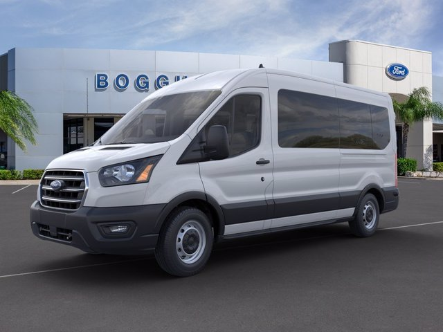 2020 Ford Transit 350 Med Roof 4x2, Passenger Wagon #0000U972 - photo 1