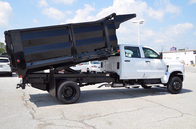 2021 Silverado 6500 Crew Cab DRW 4x4,  Beau-Roc Landscape Dump #C10674 - photo 28