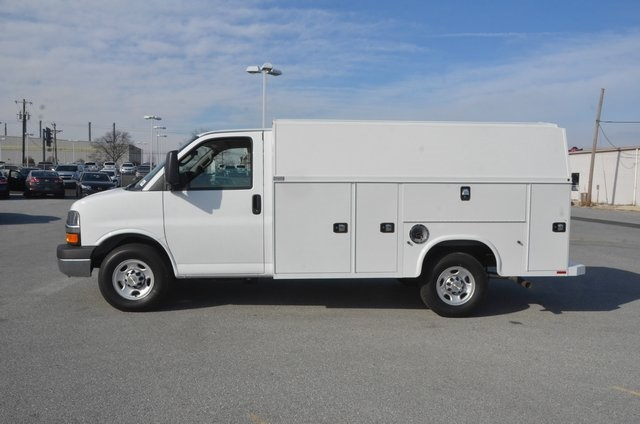 2016 Express 3500, Knapheide Service Utility Van #C60312 - photo 3
