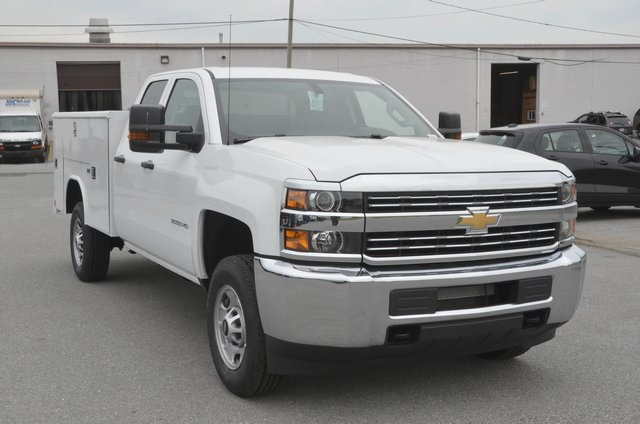 2016 Silverado 2500 Double Cab, Service Body #C60959 - photo 8
