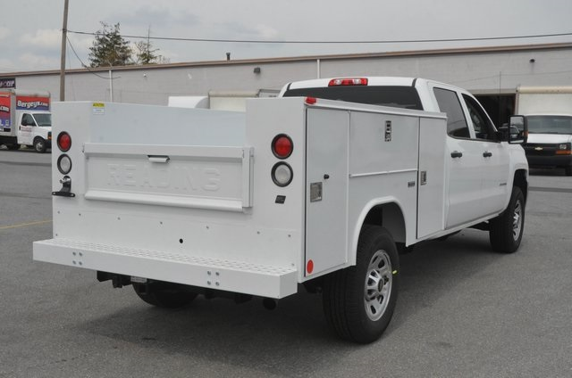 2016 Silverado 3500 Crew Cab, Service Body #C61040 - photo 6
