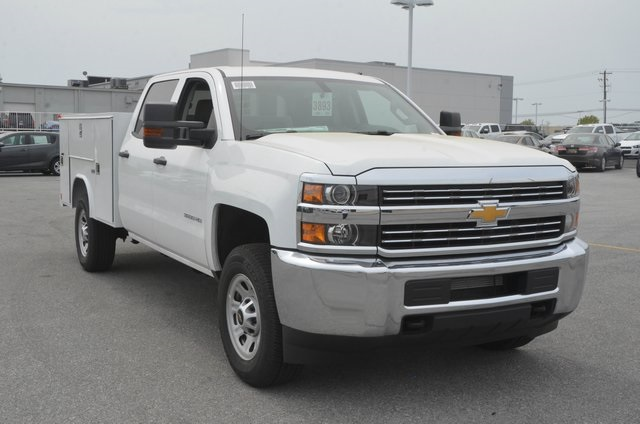2016 Silverado 3500 Crew Cab, Service Body #C61040 - photo 8