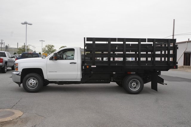 2016 Silverado 3500 Regular Cab 4x4, Stake Bed #C61118 - photo 3