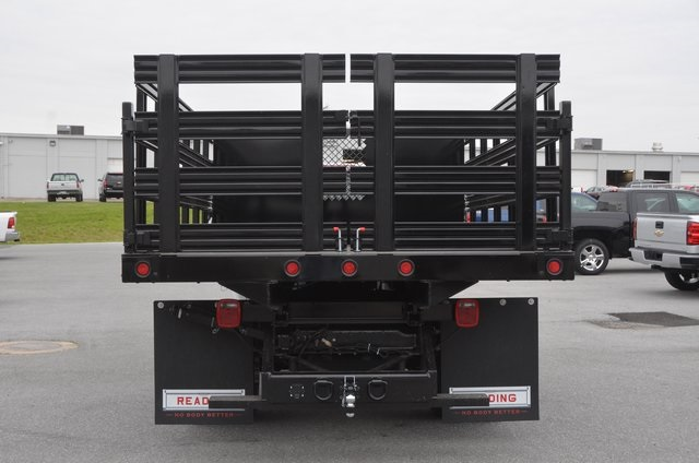 2016 Silverado 3500 Regular Cab 4x4, Stake Bed #C61118 - photo 4