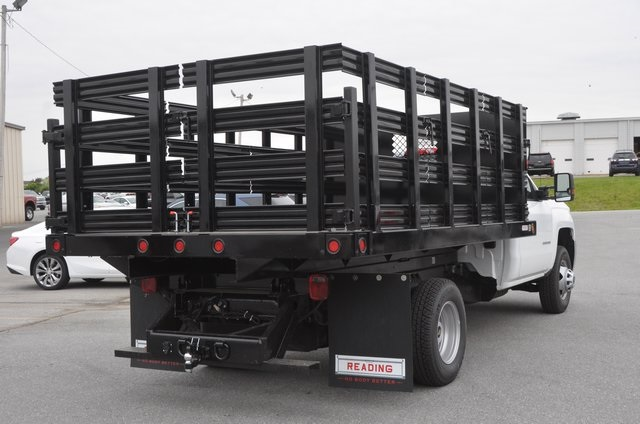2016 Silverado 3500 Regular Cab 4x4, Stake Bed #C61118 - photo 5
