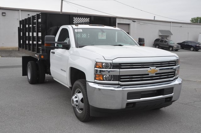 2016 Silverado 3500 Regular Cab 4x4, Stake Bed #C61118 - photo 7