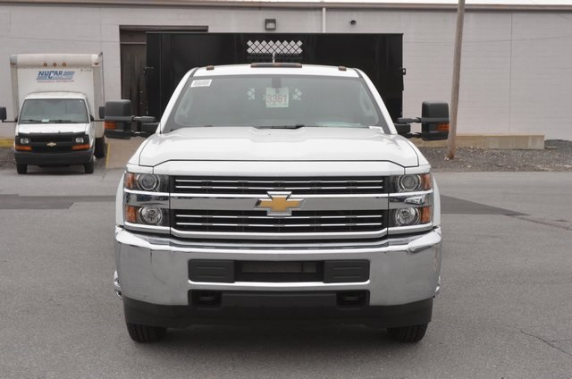 2016 Silverado 3500 Regular Cab 4x4, Stake Bed #C61118 - photo 8