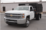 2016 Silverado 3500 Regular Cab 4x4, Stake Bed #C61118 - photo 1