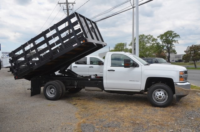 2016 Silverado 3500 Regular Cab 4x4, Landscape Dump #C61143 - photo 5