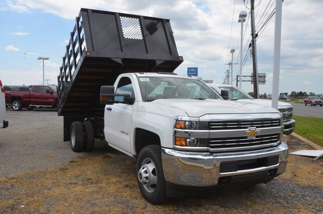 2016 Silverado 3500 Regular Cab 4x4, Landscape Dump #C61143 - photo 6