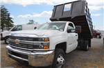 2016 Silverado 3500 Regular Cab 4x4, Landscape Dump #C61143 - photo 1