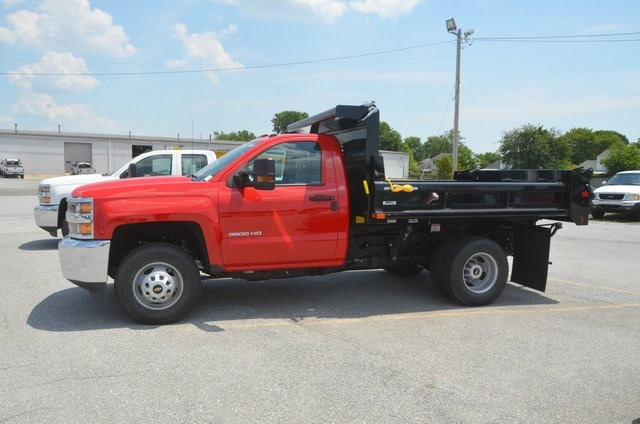2016 Silverado 3500 Regular Cab 4x4, Dump Body #C61399 - photo 3