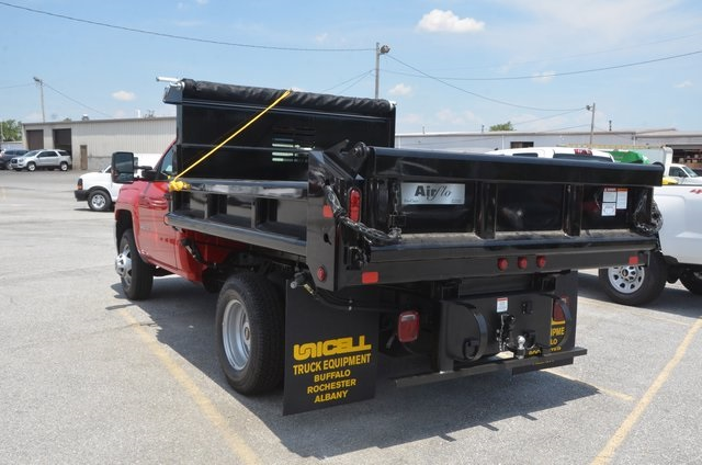2016 Silverado 3500 Regular Cab 4x4, Dump Body #C61399 - photo 2