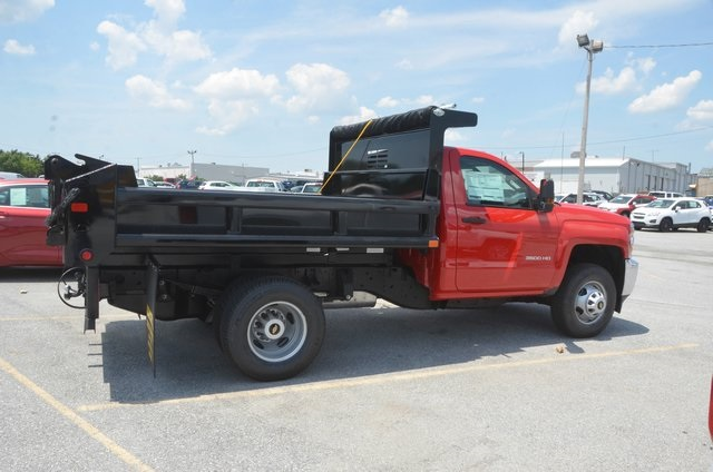 2016 Silverado 3500 Regular Cab 4x4, Dump Body #C61399 - photo 6