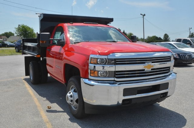 2016 Silverado 3500 Regular Cab 4x4, Dump Body #C61399 - photo 7