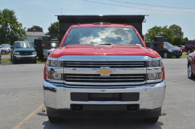 2016 Silverado 3500 Regular Cab 4x4, Dump Body #C61399 - photo 8