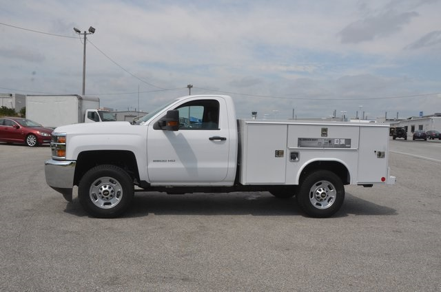 2016 Silverado 2500 Regular Cab 4x4, Service Body #C61464 - photo 3