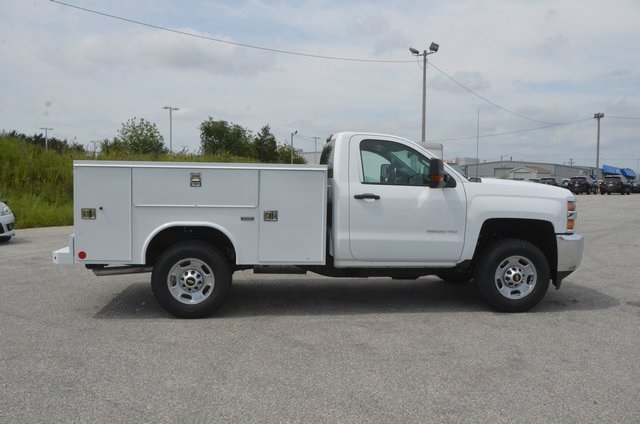 2016 Silverado 2500 Regular Cab 4x4, Service Body #C61464 - photo 7