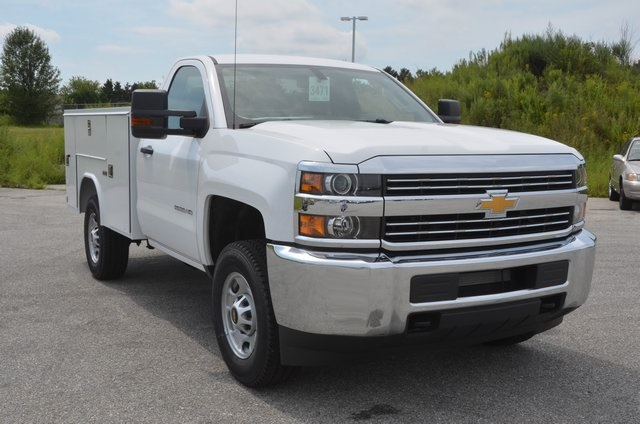 2016 Silverado 2500 Regular Cab 4x4, Service Body #C61464 - photo 8
