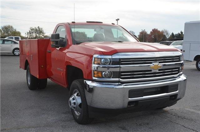2016 Silverado 3500 Regular Cab, Stahl Service Body #C61863 - photo 6