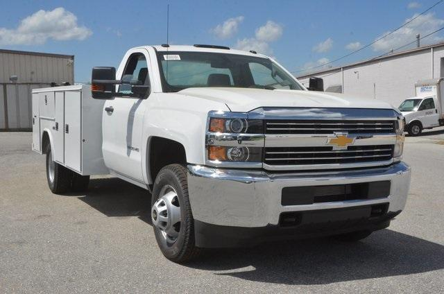 2017 Silverado 3500 Regular Cab, Reading SL Service Body Service Body #C72035 - photo 7