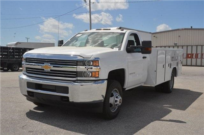 2017 Silverado 3500 Regular Cab, Reading SL Service Body Service Body #C72035 - photo 1