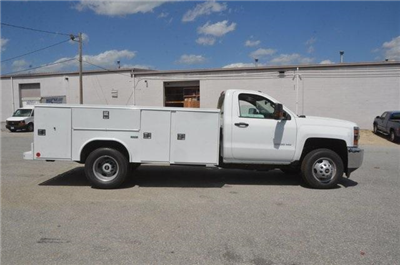 2017 Silverado 3500 Regular Cab, Reading SL Service Body Service Body #C72035 - photo 6