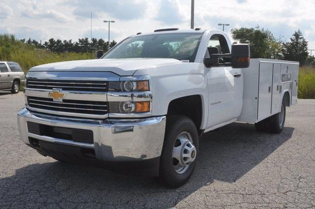 2017 Silverado 3500 Regular Cab DRW 4x4, Reading SL Service Body #C72662 - photo 1