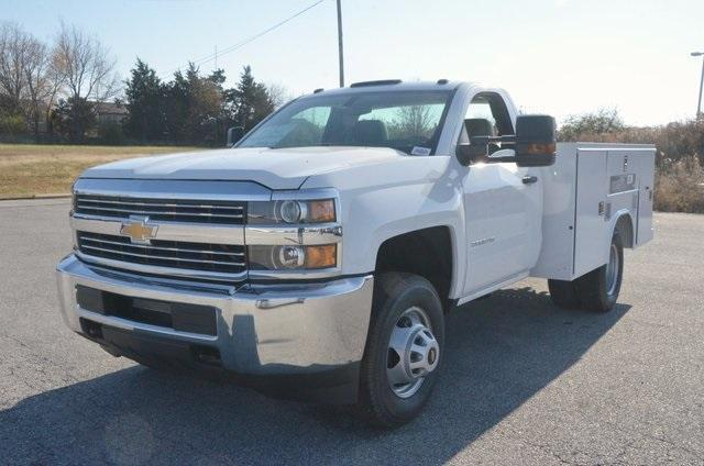 2017 Silverado 3500 Regular Cab DRW, Reading SL Service Body #C72978 - photo 1
