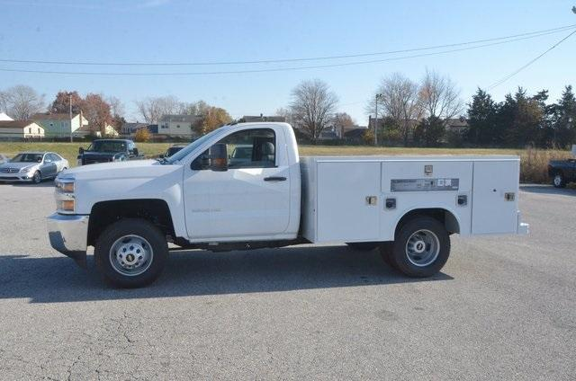 2017 Silverado 3500 Regular Cab DRW, Reading SL Service Body #C72978 - photo 3
