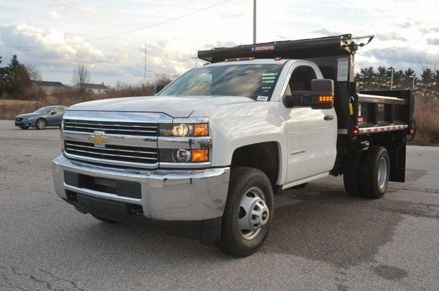 2017 Silverado 3500 Regular Cab DRW 4x4, Morgan Dump Body #C73032 - photo 1