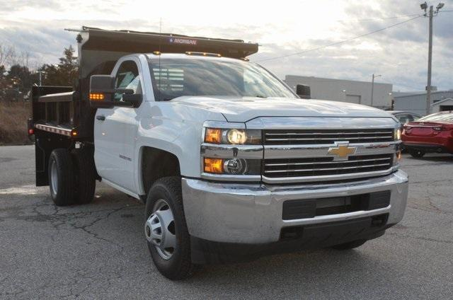 2017 Silverado 3500 Regular Cab DRW 4x4, Morgan Dump Body #C73032 - photo 7