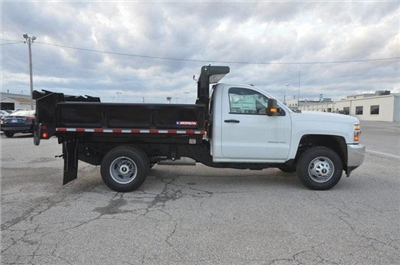 2017 Silverado 3500 Regular Cab DRW 4x4, Morgan Dump Body #C73032 - photo 6