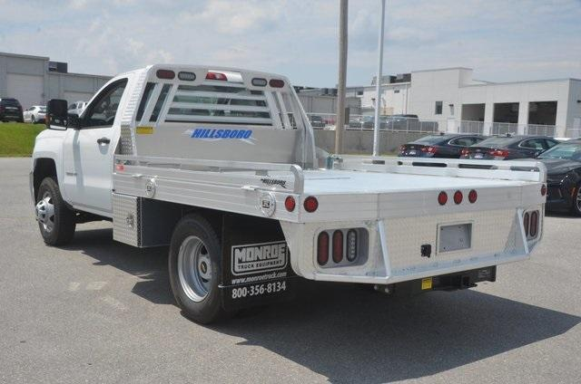 2018 Silverado 3500 Regular Cab DRW 4x2,  Hillsboro Platform Body #C81513 - photo 2