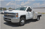 2018 Silverado 3500 Regular Cab DRW 4x2,  Hillsboro Platform Body #C81513 - photo 1