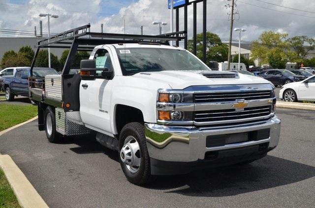 2018 Silverado 3500 Regular Cab DRW 4x4,  Freedom Contractor Body #C81653 - photo 7