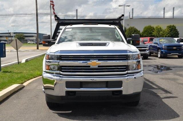 2018 Silverado 3500 Regular Cab DRW 4x4,  Freedom Contractor Body #C81653 - photo 8