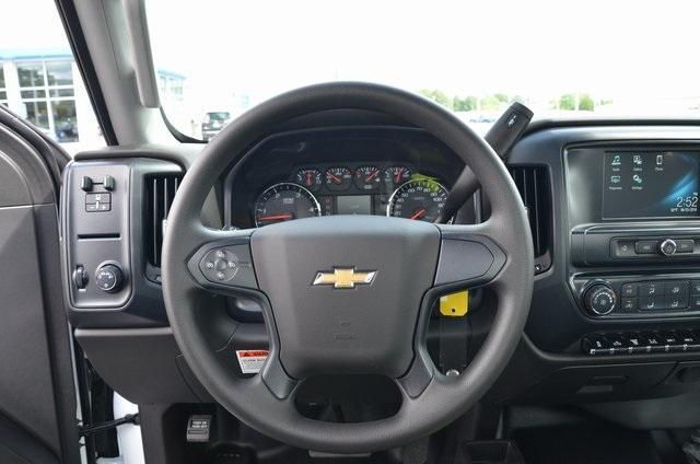 2018 Silverado 3500 Regular Cab DRW 4x4,  Freedom Contractor Body #C81653 - photo 9