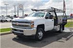 2018 Silverado 3500 Regular Cab DRW 4x4,  Freedom Contractor Body #C81653 - photo 1