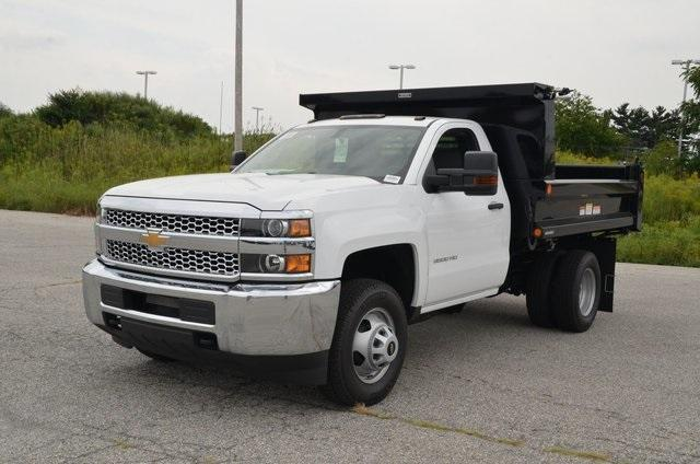 2019 Silverado 3500 Regular Cab DRW 4x4,  Reading Marauder SL Dump Body #C90067 - photo 1